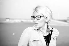 IMG_0054 (MartinVlcek) Tags: women glasses beach short hair caorle