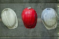 Zeche Zollverein 8 (juergen_gryska) Tags: zeche zollverein architektur essen industriedenkmal rot helm drei