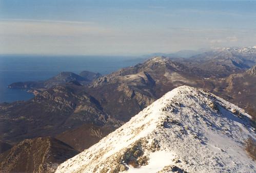 Clear winter day on Rumija