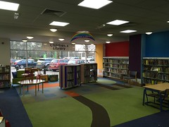 Photo of Inside St Ives library