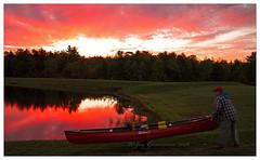 Nanticoke Lake (Joe Geronimo) Tags: canoe kayak newyork lake pond fingerlakes ithaca food wine beer