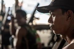 Portrait of a Worker-DSC_8223 (thomschphotography3) Tags: jakarta indonesia asia southeastasia portrait man worker harbour streetphotography light shadow bokeh