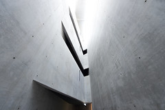 Light edge (Panda1339) Tags: jewishmuseum germany architecture abstract shapes lookup berlin light edge sharp striking