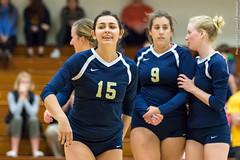 2016-10-14 Trinity VB vs Conn College - 0170 (BantamSports) Tags: 2016 bantams college conncollege connecticut d3 fall hartford nescac trinity women ncaa volleyball camels