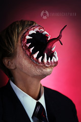 LEVIATHAN - Supernatural (amandachapmanmakeup) Tags: leviathan leviathanmakeup supernatural supernaturalcosplay supernaturalmakeup supernaturalcostume halloweenmakeup halloween halloweencostume 31daysofhalloween 31daysofhalloweenmakeup mouth tongue teeth creepy scary horror mouthface