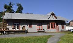 Parsons, West Virginia (Bob McGilvray Jr.) Tags: parsons westvirginia wm westernmarylandrailroad depot passenger 1888 railroad train tracks railtrail station