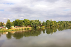 Reflections (mehmetyukselphotography) Tags: edirne turkey tr meri river nature landscape lands tree trees travel trip road world photo photography water sky reflection reflections canon nikon sony iphone architecture cloud clouds love life colorful color colors green
