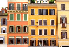 ROMA PIAZZA NAVONA WINDOWS SHUTTERS (patrick555666751) Tags: romapiazzanavonawindowsshutters roma piazza navona windows shutters volets volet ventana fenetre finestre window rome flickr heart group italia italie italy europe europa lazio latium facade facades italien