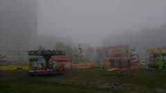 Rno na Hjch (h@vlicek.cz) Tags: praha podzim rno mlha fog sdlit hje praha11 koloto lunapark pou carousel