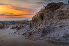 Beach Dunes at Sunset (jamesgriffithsphotography) Tags: sand beaty beautiful nature beach beachgrass bokeh