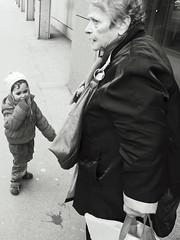 (Ahmed Chergui) Tags: street people bw monochrome prime switzerland child suisse streetphotography olympus nb april pancake zrich rue enfant avril vieille fixe 2013 photosderue zurich lumix14mm omdem5 ahmedchergui