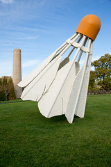 The famous shuttlecocks (Denzil Burriss) Tags: autumn art museum canon kansascity kc dslr nelsonatkins 2012 5diii