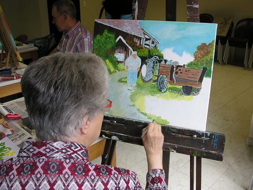 Grafiek voor senioren - © Antheunis Jacqueline