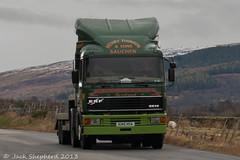 Dalmore 2013 Henry Thompson ERF EC14 4x2 (Jack,Shepherd) Tags: scotland volvo nikon erf sutherland scania caithness foden atkinson rossshire dalmore highlandroadrun2013