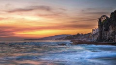 {EXPLORED #312} Whimsical and Dreamy Southern California Sunset in Victoria Beach (swazileigh (on/off/on/off)) Tags: ocean california longexposure sunset seascape love water clouds landscape nikon waves cityscape cloudy citylights swirl lowtide southerncalifornia orangecounty goldensunset rapunzel lagunabeach whimsical dreamscape d800 victoriabeach landscapephotography oceanscape nikond800 voyagetravellingreise swazileigh