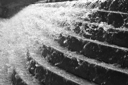 watersteps side bw