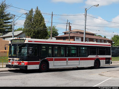 Toronto Transit Commission #7305 (vb5215's Transportation Gallery) Tags: new toronto flyer ttc 1999 transit commission d40lf
