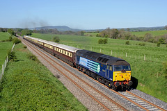 25/05/13 Rimington (Rob.Whitaker) Tags: crewe belle northern ravenglass rimington 47818 1z62