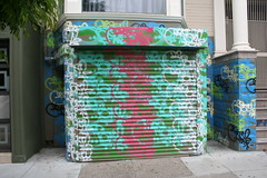 Geso (covered filth) Tags: california house painting graffiti bay san francisco tags area tagging bombing geso