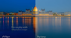 Parliament before after (Pat Kavanagh) Tags: hungary budapest challenge hdr parliamentbuilding budapesthungary klausherrmann picstoplaywith