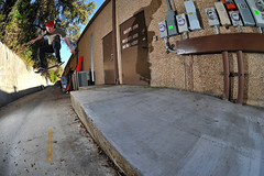 Ronnie bs 180 dos gatos (charliekitchen) Tags: back nikon san texas skateboarding fisheye 180 28 16mm marcos d700