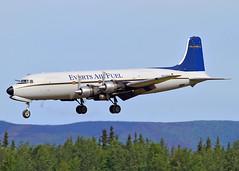 N747CE Douglas DC-6A Everts Air Fuel (Keith B Pics) Tags: douglas fairbanks fai dc6 everts liftmaster c118 evertsairfuel 152689 33290 n747ce 533290 n232hp