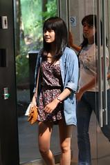 pretty girl wearing shorts碎花短褲裙可愛女生III by bwpingu1 -