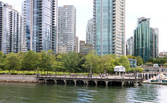 Downtown Vancouver - BC, Canada (The Web Ninja) Tags: travel cruise canada mountains building ferry architecture vancouver canon buildings photography boat photo sailing bc yacht explorer rocky cruising columbia canadian explore photograph boating inlet british burrard traveling traveler vancity 70d explored canon70d