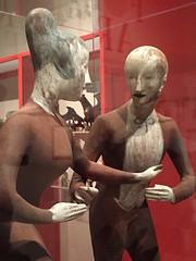 1-18 Nadelman Folk Art at NYHS (MsSusanB) Tags: nadelman nyhs folkart sculpture tango dancers elie viola wood modernart