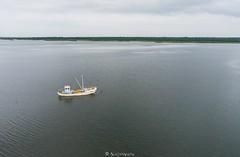 Kalapaat Sre lahel (BlizzardFoto) Tags: kalapaat fishingboat paat boat sre bay laht meri sea aerofoto aerialphotography