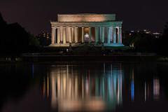 231/366 - Lincoln Memorial (Ravi_Shah) Tags: longexposure cy365 dc potd nationalmall sony a7ii washingtondc lincolnmemorial
