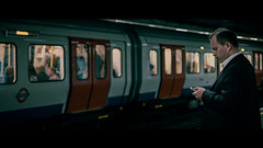 Underground, London, UK (emrecift) Tags: candid street photography portrait london underground cinematic grain green tint 2391 anamorphic fujifilm xpro1 fujinon xf35mm emrecift