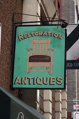 Restoration Antiques (jschumacher) Tags: nyc sign eastvillage handpainted