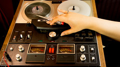 Reel to reel (Madija~) Tags: akai repair youtube electronics project proyecto electrnica reeltoreel rtr audio analogue vintage retro 1980s 1970s nikon