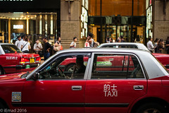 Life in Motion - Taxi lineup... (EHA73) Tags: taxi aposummicronm1250asph leica leicamp typ240 hongkong mathesonstreet timessquare shoppers shopping travel