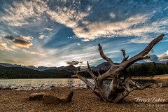 August 27, 2016 - Brainard Lake at the end of the day. (Tony's Takes)