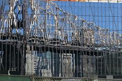 59th Street Bridge Reflection (Roosevelt Island/NYC) (chedpics) Tags: newyork rooseveltisland 59thstreet queensborough bridge