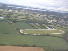 Elliptical track (seikinsou) Tags: ireland westmeath summer aerlingus flight windowseat dublin airport ellipsis track horse