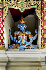 Doi Suthep Ganesha (Anoop Negi) Tags: doi suthep thailand ganesha ganesh hindu god statue blue body wat phra chiangmai anoop negi buddhism religion travel journey photo photography ezee123