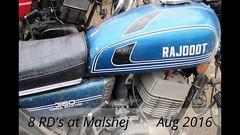 8 RD tanks at Malshej - Aug 2016 (Yazed Lord) Tags: rd350 video slideshow malshej ride lineup red black maroon