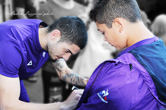 Signing time (AndRealfi) Tags: fiorentina zell am see austria osterreich football soccer calcio autografi signing autograph