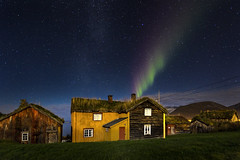 magic houses (Sigita JP) Tags: rainbow nighttime nightscape aurora northernlights norway arcticcircle magic house longexposure