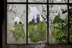 ruhral decay (dadiolli) Tags: window shattered glass fenster glas lostplace fabrik stillgelegt industrieromantik dortmund