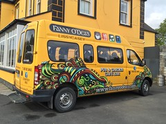 Fanny O'Dea's Pub - Lissycasey, County Clare - Ireland (firehouse.ie) Tags: attraction tourism west clare countyclare ireland courtesybus personnelcarrier crewcarrier lissycasey odeas fanny fannyodeas minibus bus mini van ldv