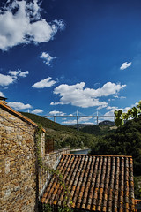 Viaduc de Millau, France.  From Peyre. (Peach of a Shot) Tags: peyre viaducdemillau sigmadp0quattro millaubridgefrance aveyron france sigmacamera foveon tarnriver millaufrance