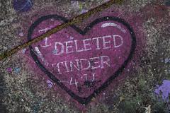 i love you (Greg Rohan) Tags: iloveu artwork art arte paintedpavementart pink pavement streetart graff graffiti photography 2016 d7200 heart dating fallinginlove givingup commitment love tinder
