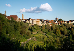 Rothenburg ob de Tauber, Germany (laura's POV) Tags: rothenburgobdetauber rothenburg germany bavaria village town vineyard history historical medieval lauraspov lauraspointofview europe travel quaint renaissance gothic german