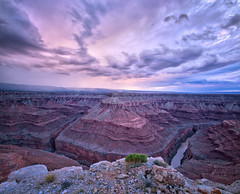 Marbles Demise (CEBImagery.com) Tags: monsoon canyon colorado confluence flowers landscape marble nature navajo remote reservation river southwest storm sunset tatahatso