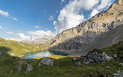 Clouds and Reflection (pascal_kipf) Tags: iffigsee iffigtal clouds wolken alpen alps mountains berge bergsee lake aussicht view trkis turquoise canon 10 18 stm 7d ii wideangle weitwinkel uww hike hiking explore trekking