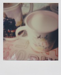 polaroid99 (Emma Conner) Tags: polaroid 600 indoor tea cups afternoon instant film impossible project serene